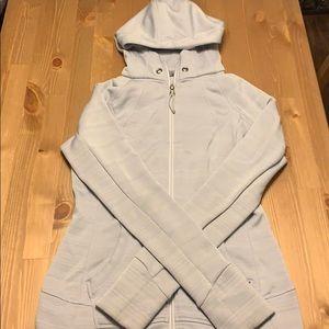 Size Small - ATHLETA JACKET - Light Grey